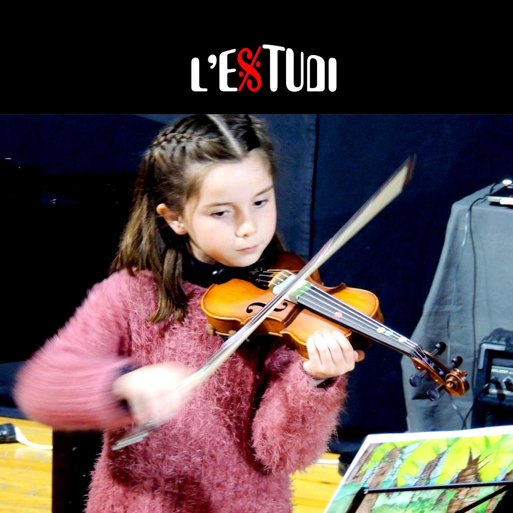 clases de violín para niños en Tarragona