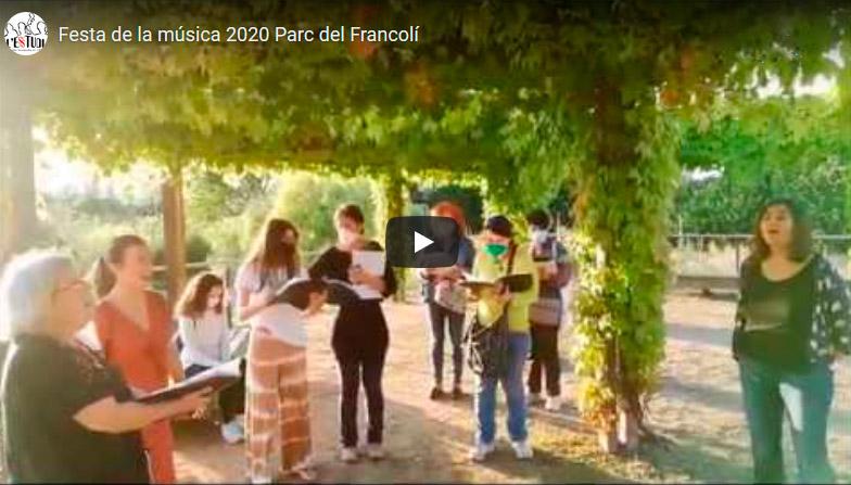 Fiesta de la música 2020 Reunion al Parc del Francoli