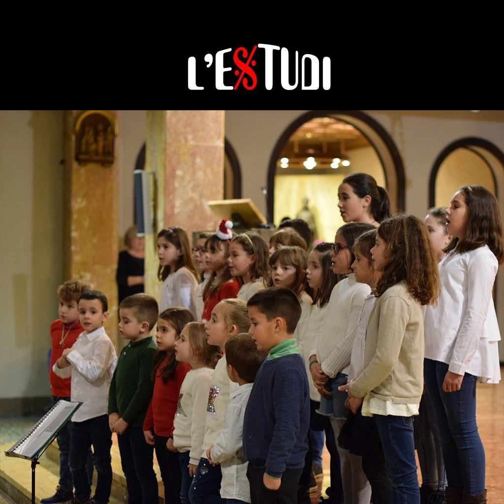 escuela de música en Tarragona coro infantil