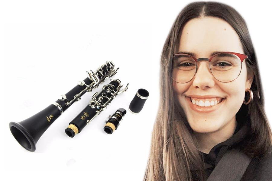Silvia Redecillas profesora de clarinet Estudi de Musica Tarragona Clarinet